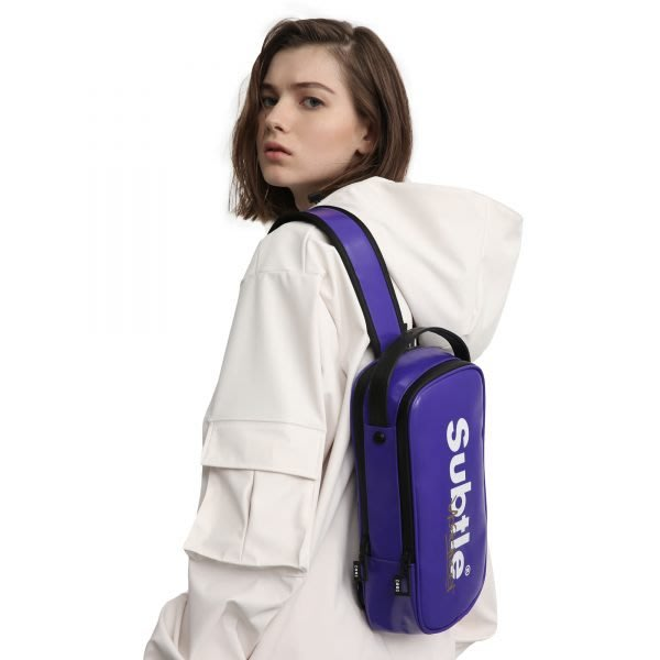 潮牌Subtle 強力推出 AVANT 防水胸背包 單肩包 斜背挎包 帥氣破表可作情侶包 吸睛 旅遊 運動-限量版色