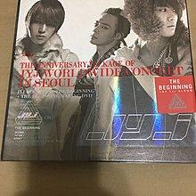 JYJ The Beginning-Worldwide Concert In Seoul-2CD+DVD 韓版