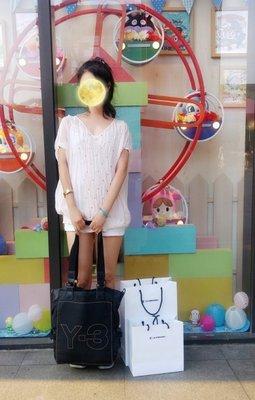 專櫃購買【Pringle】金標裸粉透膚純蠶絲珠繡上衣 原價$39800