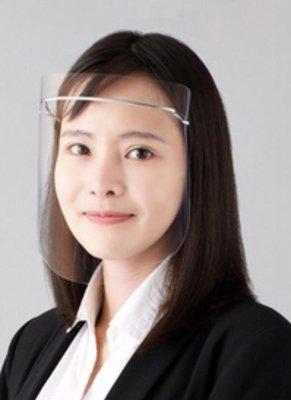 夏普奈米蛾眼科技時尚防護面罩鈦合金全罩式限量現貨《鈦合金輕量系列奈米蛾眼科技防護面罩/全罩式附上鈦合金框ㄧ只+防護片2枚