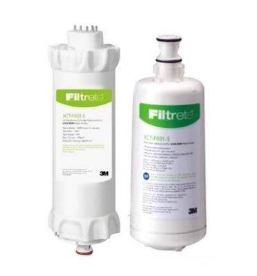 (免運) 3M UVA3000 活性碳濾心(3CT-F031-5)+紫外線燈匣組(3CT-F022-5) 原廠封條