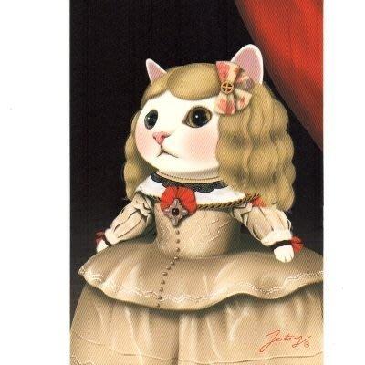 (可超取)HappyLife【SV4789】JETOY,Choo Choo 甜蜜貓第二代明信片_Margarita禮卡