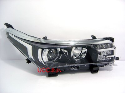 【UCC車趴】TOYOTA 豐田 COROLLA ALTIS 13 14 15 Z版 原廠型 LED 投射大燈 TYC製 高雄市