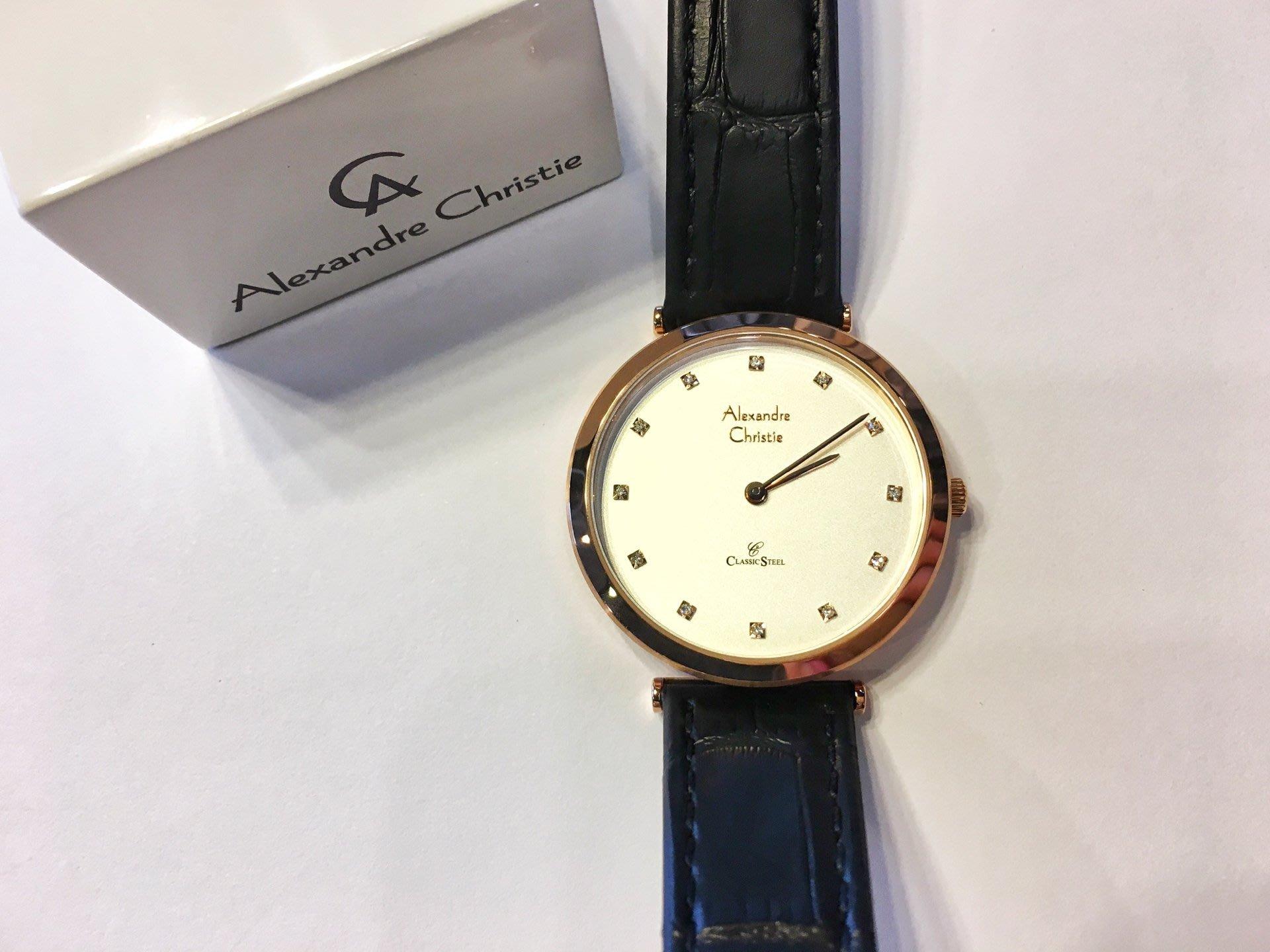 Alexandre Christie Page 2 Alexandra Watch 8540lhlrgsl