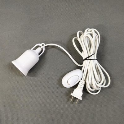 5米燈泡延長線【NT068】E27 開關燈座 延長線 500cm 燈泡 延長 插座 LED 一般燈泡