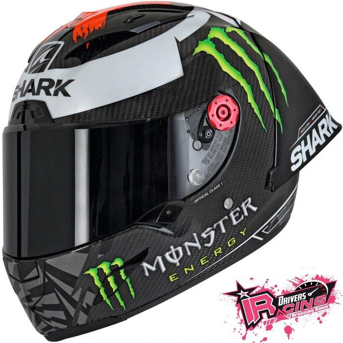 ♚賽車手的試衣間♚ Shark® Race-R Pro GP Lorenzo 冬季測試 限量 碳纖維 安全帽 大尾翼