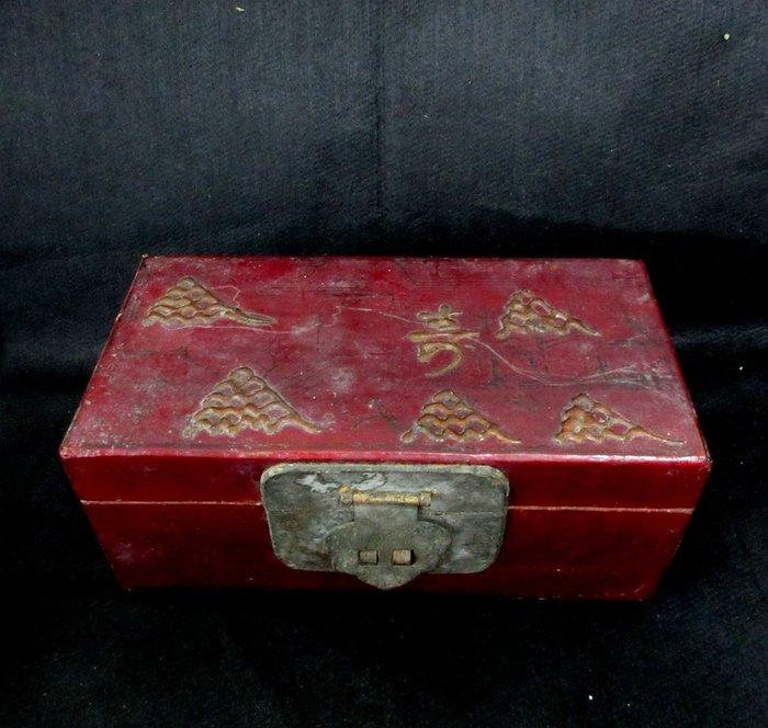 出賣家藏--老木盒
