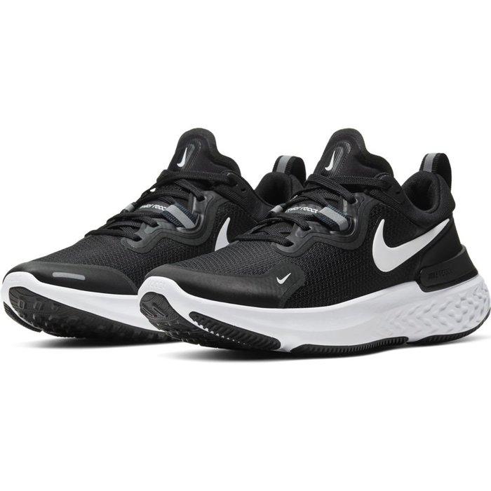 =CodE= NIKE W REACT MILER 3M反光透氣網布慢跑鞋(黑白) CW1778-003 輕量避震 女