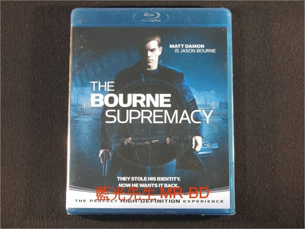 藍光BD  ~ 神鬼 :神鬼疑雲 The Bourne Supremacy BD~50G