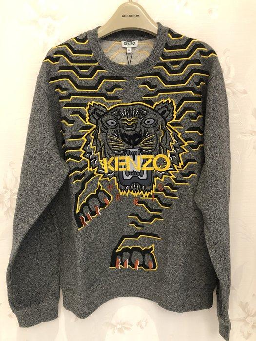 KENZO 男款下山虎刺繡上衣M號正品保證