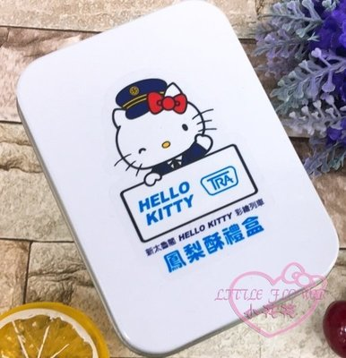 ♥小花花日本精品♥Hello Kitty台鐵新太魯閣號kitty鳳梨酥經典鐵盒兩入禮盒好友分享組合90302404