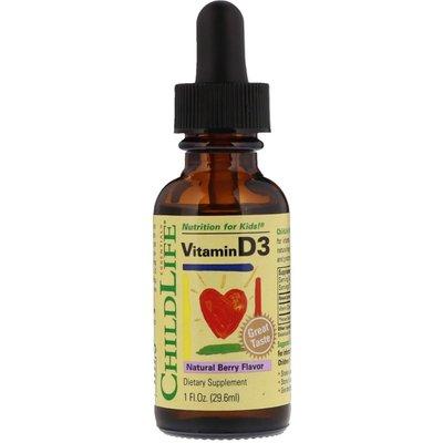 美國直郵Childlife Vitamin D3 維他命D 滴劑 嬰幼兒 寶寶 天然漿果口味 29.6ml 新北市