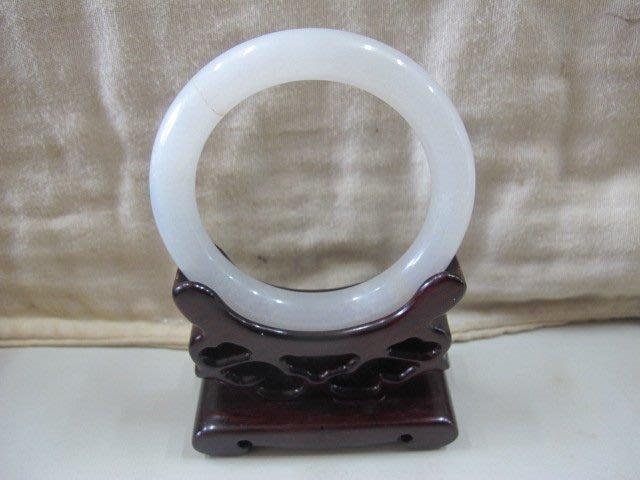 二手鋪 NO.4236 天然玉石 翡翠A貨 手環 玉環 玉鐲 手鐲 首飾飾品