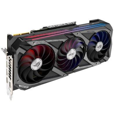 電腦配件顯卡華碩ROG STRIX RTX3090 O24G GAMING猛禽Nvidia吃雞電競游戲顯卡
