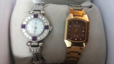 二手錶鑽錶rado金色錶