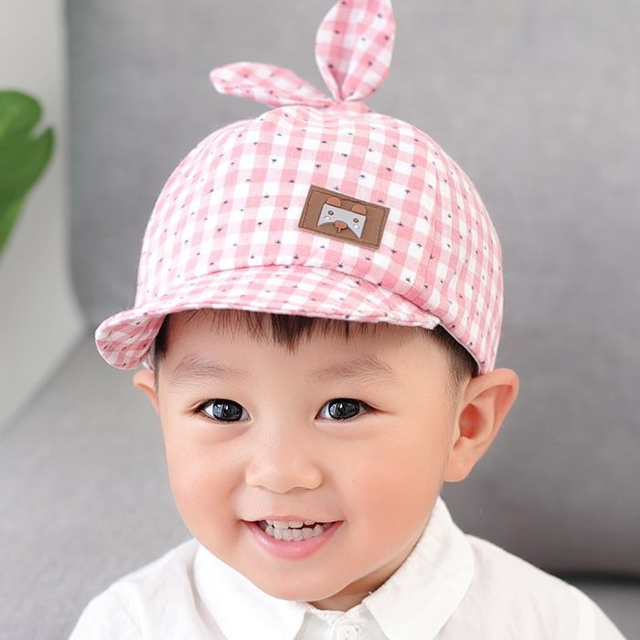 寶寶鴨 舌帽春 秋棒球 帽子薄 款防曬 男女兒 童遮陽 帽1- 3歲夏 太陽帽 潮 帽子 防曬帽  兒童帽子 太陽帽 正韓