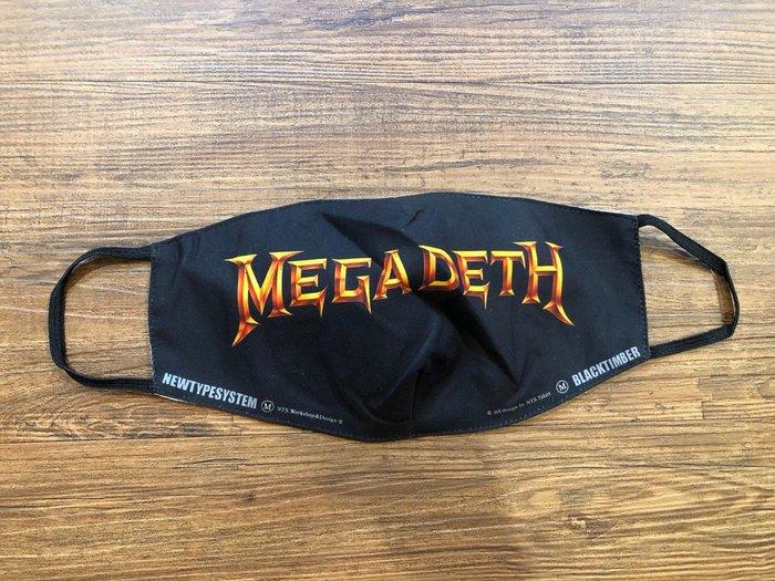 【小間搖滾】MEGADETH麥加帝斯 ☆進口Rock 棉質口罩