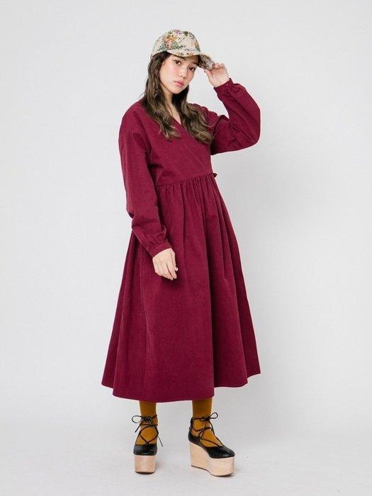 SeyeS {日本空運} 必備簡約寬鬆V領綁帶設計感洋裝