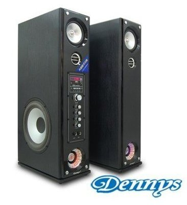 實體店面/原廠保固一年/Dennys USB+SD+藍牙功能 主動式音響喇叭 CS-699
