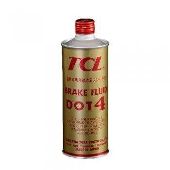 【 shanda上大莊】  日本TCL 煞車油DOT4 X002  (0.5 L)