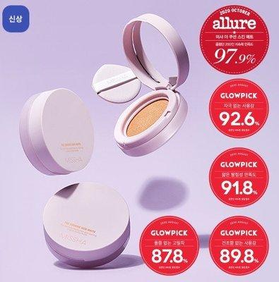 【韓國代購】MISSHA 美白抗紫外線半啞光氣墊粉餅12g