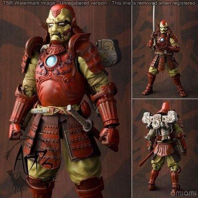 [APPS STORE4]萬代 名將 MANGA REALIZATION 武士 鋼鐵人 MK3  公仔 模型 pvc