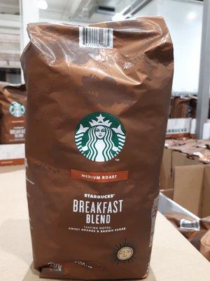 【好市多代購】 星巴客 STARBUCKS 早餐綜合咖啡豆 1.13公斤,現貨,售完為主,可超商取貨60 桃園市