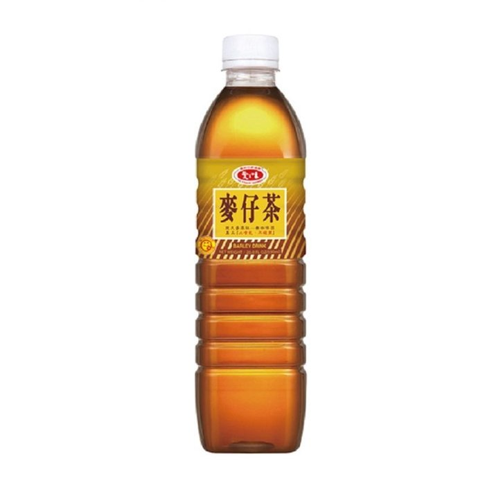 愛之味 麥仔茶 1箱590mlX24瓶 特價360元 每瓶平均單價15元