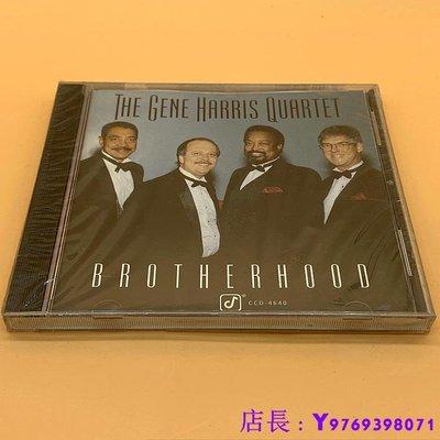 全新CD音樂 美 未拆 爵士四重奏 THE GENE HARRIS QUARTET BROTHERHOOD CD