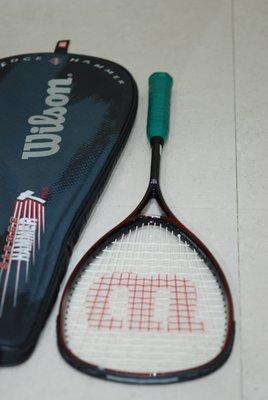 Wilson Sledge Hammer Squash Racquet 碳 纖 維 壁球 迴力球 拍 155g