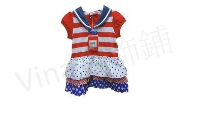 [全新WHY AND 2/1 ]A字洋裝 連衣裙 無袖洋裝 海軍領洋裝 vina雜飾鋪