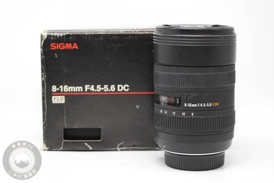 【高雄青蘋果3C】SIGMA 8-16mm f4.5-5.6 HSM DC For Nikon #20780