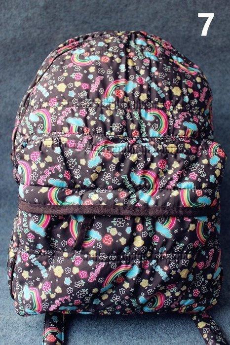 日本ROUGH太空棉拼色雙肩包(第二件八五折兩件免運)