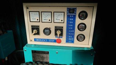 中古發電機.柴油發電機.靜音發電機.備用發電機.消防發電機.60KW三相220V.原裝進口.少用便宜賣
