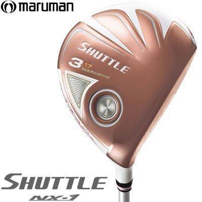 藍鯨高爾夫 Maruman SHUTTLE NX-1 女用 玫瑰金 球道木桿-5號 初學者的最愛