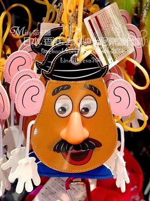 Miss莎卡娜代購【東京迪士尼】﹝預購﹞玩具總動員 蛋頭先生 3D表情轉換 票夾卡套 票卡夾 證件套 識別證套