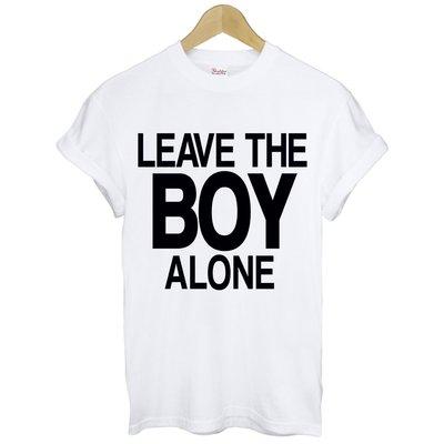 LEAVE THE BOY ALONE短袖T恤 2色 Rihanna Cher Lloyd同款t-shirt $390