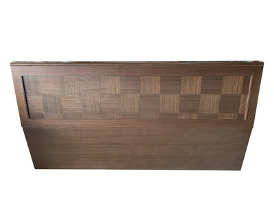【宏品二手家具館】台中全新中古傢俱家電拍賣 B6042B*深咖啡6尺床頭片*床頭櫃 床邊櫃 新竹台北南投 床組化妝鏡台