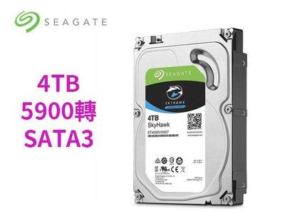 「ㄚ秒市集」希捷 4T 4TB ST4000VX007 監控鷹 5900轉 SATA3 3.5吋 監控碟