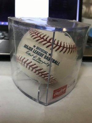 MLB 美國職棒大聯盟 全新盒裝比賽用球 ROMLB 未拆封 抗UV球盒 胡智為江少慶王建民陳偉殷張育成林子偉