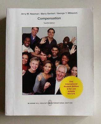 【書香傳富2017】Compensation 12/E_Newman、Gerhart、Milkovich---9成5新
