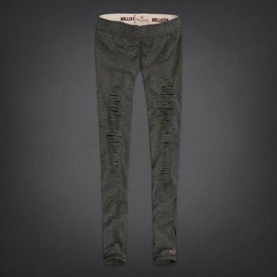 Hollister 女士Best Butt 灰色洞洞內搭褲(XS號) (72013) ~全新正品