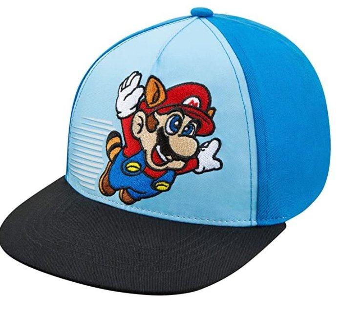 預購 美國帶回 Nintendo Super Mario 超級瑪麗兄弟 童趣款 可調式造型棒球帽 帽子 休閒帽 官方授權