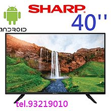 sharp 2T-C40AC1H 40'' android 智能電視smart tv 1080p 2年行貨保用