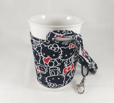 環保杯套【hello kitty】送禮、生日小物、婚禮拌手小禮物