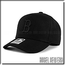 【ANGEL NEW ERA 】MLB Old Fashioned Cap B  波士頓 紅襪 黑 卡車司機帽 五片