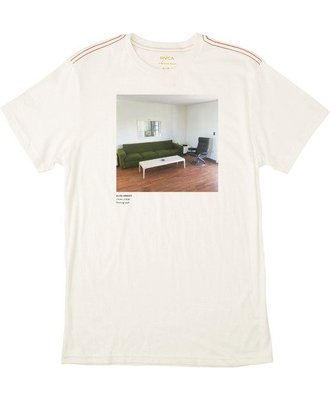 RVCA - LIVING ROOM ALEX KNOST T-SHIRT 白色 照片TEE 現貨販售