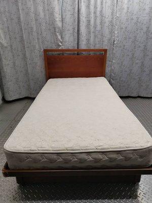 3尺半單人加大掀床 單人加大床底 單人掀床 二手單人床 中古單人掀床 單人床墊 二手單人床 床頭版 二手床墊