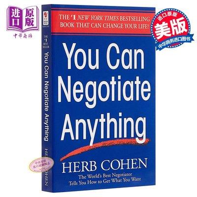 談判無處不在 英文原版 談判圣經 You Can Negotiate Anything