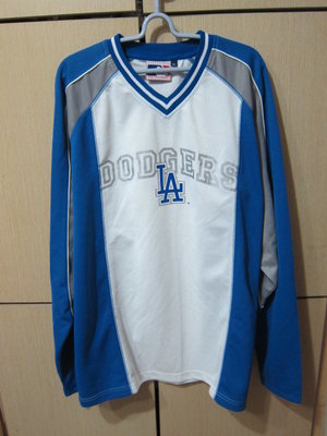 衣市藍~MLB Major League Baseball LA DODGERS 長袖排汗上衣(XL~)(201222)